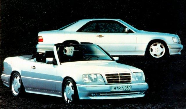 Mercedes E36 AMG Cabriolet