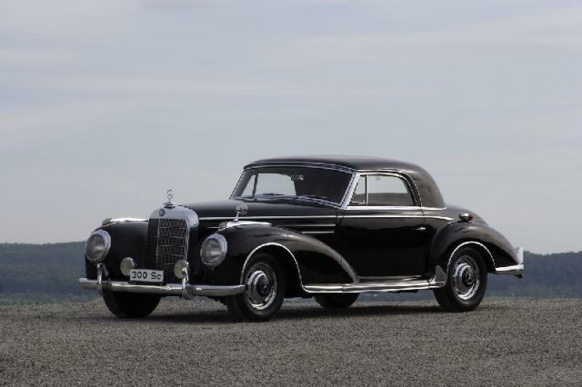 Mercedes coupe 300Sc