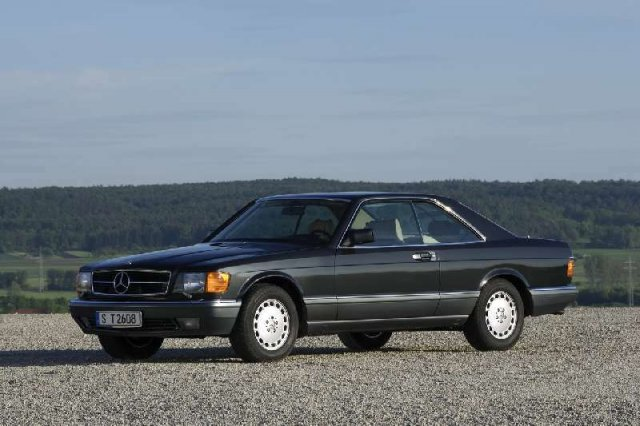 Mercedes Coupe C126