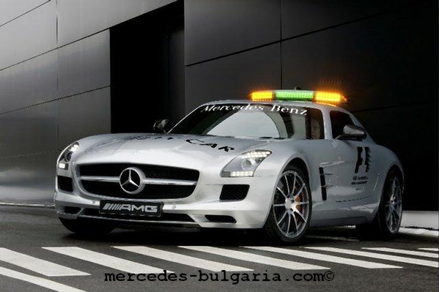 Mercedes SLS AMG Safety Car in F1