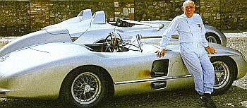 Mercedes 300 SLR and Stirling Moss