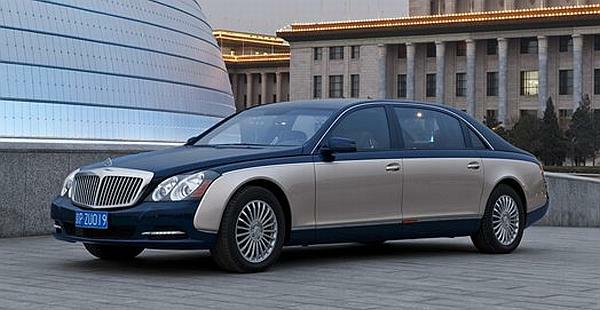 Maybach 62 FL