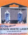 CAR STYLING XENON WHITE LASER H4