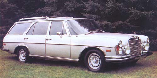 Mercedes SEL 6.3 station wagon