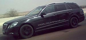 Mercedes Benz S 212 E class Estate 2010 black