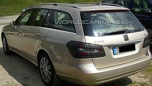 Mercedes Benz S 212 E class Estate 2010