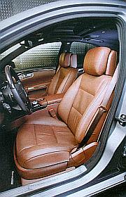 Mercedes S500 driver seat